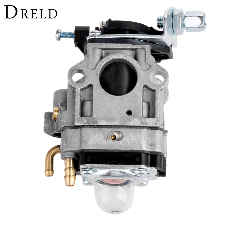 DRELD Carburetor Carb for 1E40F-5 TB43 Brush Cutter Chainsaw Spare Parts for Grass Trimmers and Cutters Garden Tools Parts high quality carburetor carb carby for husqvarna partner 350 351 370 371 420 chainsaw poulan spare parts walbro 33 29