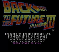 Back to the Future 3 - 16 bit MD Games Cartridge For MegaDrive Genesis console