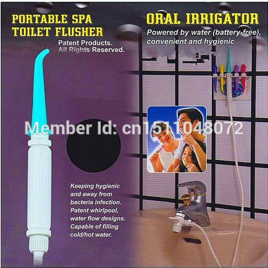 home portable SPA toilet flusher oral irrigator/whitening dental / Dental Water Jet/irrigator dental