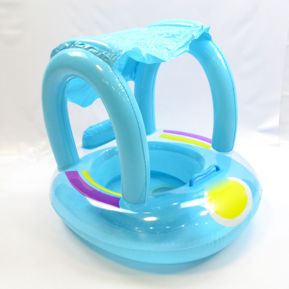 Inflatable Summer Flamingo Pool Float Safety Baby Swimming Ring Armpit Floating Kids Swim Pool Accessories Inflatable Rings