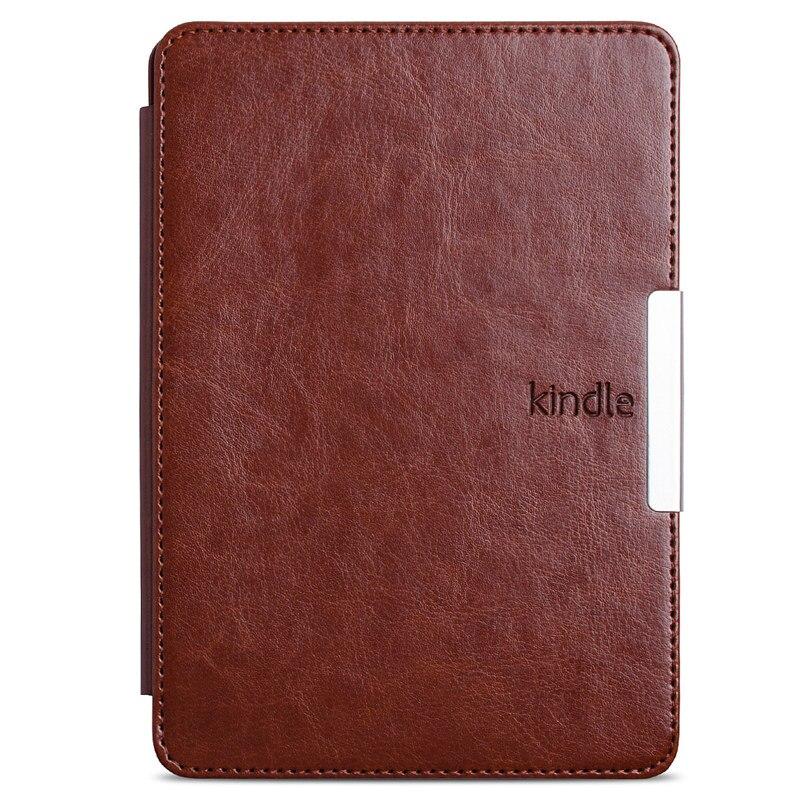 Pour kindle paperwhite étui en cuir smart Vintage Style e-book couverture pour amazon kindle paperwhite1 2 3 2015 2014 2013 2016 étui