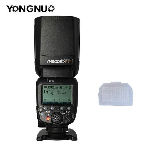 Prix pour 2017 YONGNUO YN600EX-RT ii 2.4G Sans Fil HSS 1/8000 s Maître Flash Speedlite pour Canon EOS Caméra comme 600EX RT + Livraison diffuseur