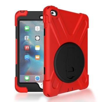RYGOU For Apple iPad Mini 4 Case Spider Military Heavy Duty Dust/Shock Proof Tablet for mini mini4