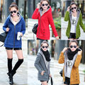 New Autumn Winter Thicken Women Hoodies Jacket Casual fur collar Coat 5 colors