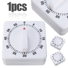 1pcs 60min Mechanical Timer Game Count Down Counter Clock Alarm For Kitchen Cooking Tool