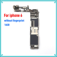 16gb for iphone 6 Motherboard without Touch ID,100% Original unlocked for iphone 6 Logic boards with IOS System,Free Shipping