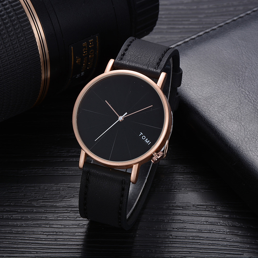 GEMIXI 2018 Hot Fashion Casual Men s Bussiness Retro Design Leather Round Band Watch for dropshipGEMIXI 2018 Hot Fashion Casual Men s Bussiness Retro Design Leather Round Band Watch for dropship