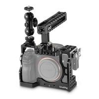 SmallRig A7M3 Камера Cage Kit for sony A7RIII/A7III с Камера ручка Ballhead зажим Обновление версии 2103