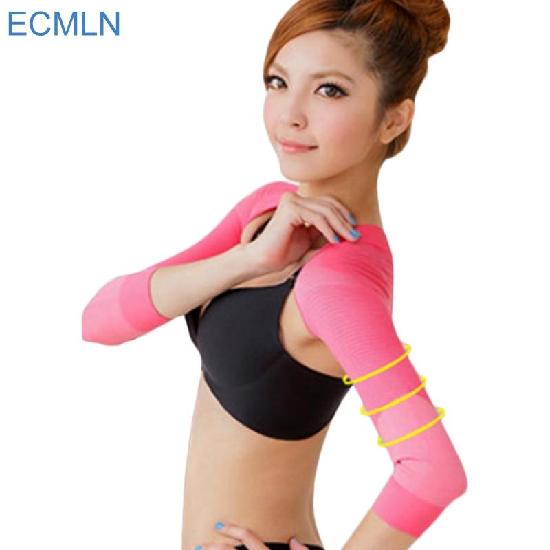 Mulheres Braço Shaper Corrector Ombro Para Trás Jubarte Emagrecimento Underwear Shapers Quentes prevenir Braço de Controle Shapewear