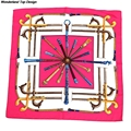 Women Silk Square Scarves and Neckerchief Luxurious Kerchief Wrap of New Designer 20 Colors Scarf SC3028