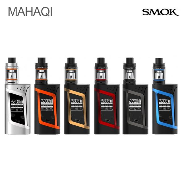 Original smok kit extranjero con tfv8 smok 3 ml bebé tanque atomizador vape kit e-cigarrillo smok cuadro extranjero mod con aotomizer