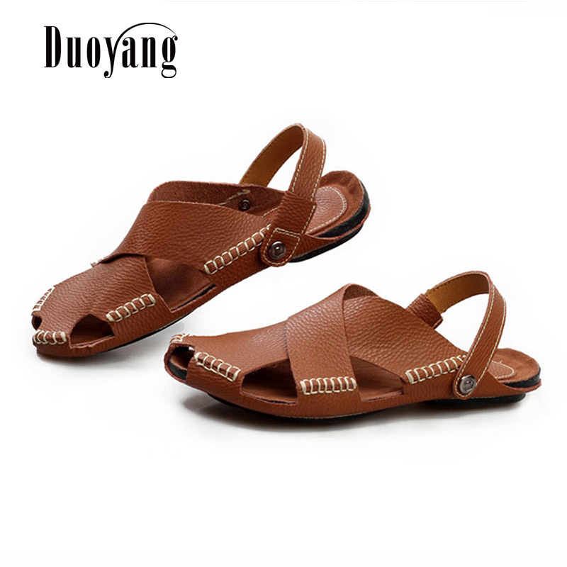 a5c54f32c82cf3 Fashion Men s Sandals 2017 New Hot Summer Breathable Men s Beach Shoes Flip  Flops Male Casual Slippers