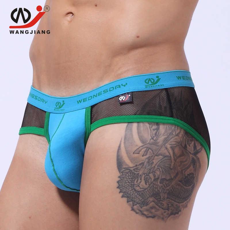0f68d6da5ff WJ Jockstrap Gay Underwear Men S Briefs Sexy Men Underwear Gay Sexy Men  Transparent Underwear Lingerie Panties