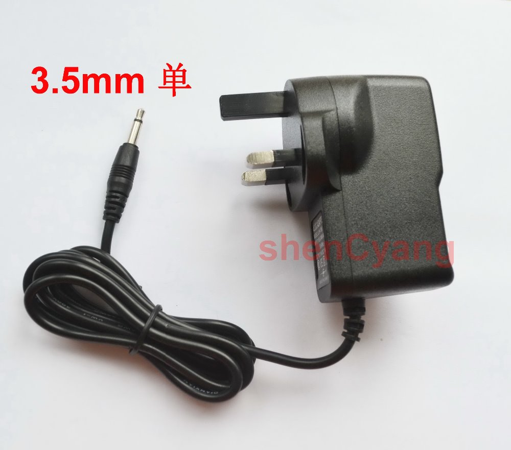 50pcs high quality 9v AC Adapter Power Supply for Video Game Console ATARI 2600 UK plug