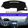 Auto Dashboard Abdeckung Für Joyear X3 2015 2016 2017 Links Hand Stick Dash Matte Pad Teppich Dashmat Sonne Schatten Pad dashboard Auto Styling Auto-Anti-Schmutz-Pad    -