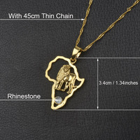 With 45cm Thin Chain-13