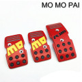 selling manual pedals / MOMO pedals slip mat / Universal shape modification pedals red