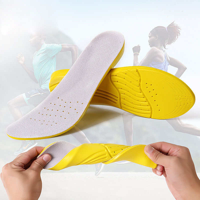 Insoles for shoes top quality cushions shock absorption breathable comfortable foot pain relieve shoe insoles for men and women стоимость
