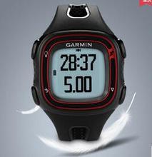 Бесплатная доставка Garmin предтечи 10 мужчины и женщины профессия открытых площадках работает с GPS наручные часы 50 м водонепроницаемый Forerunner10