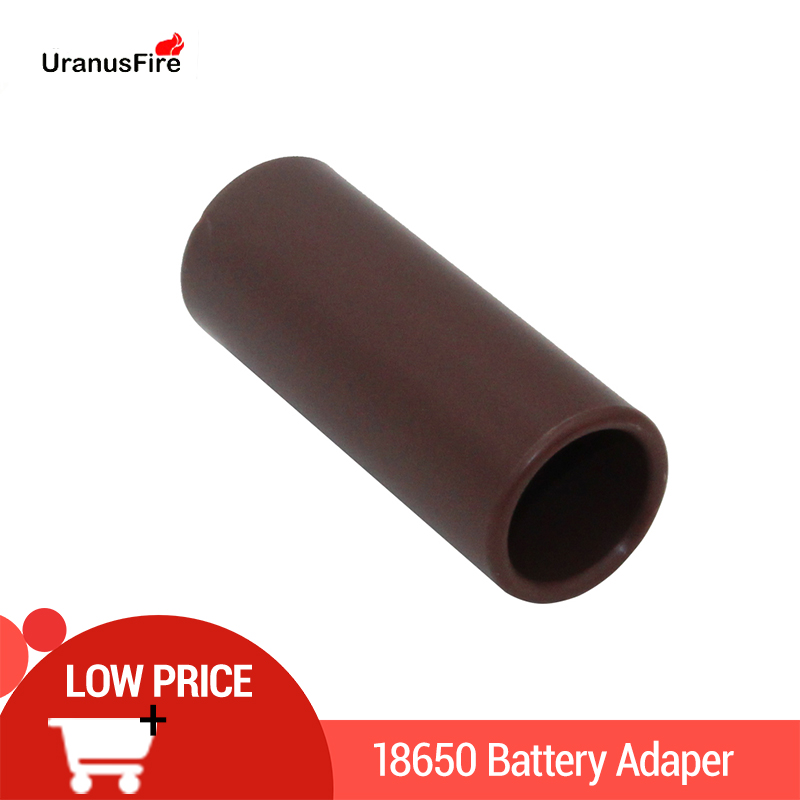 18650 To 26650 Battery Converter Case Sleeve 18650 Adapter Plastic Cover Durable For 26650 Led Flashlight Torch E-cigarette