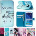 Flower Flip Leather Case for iPhone Samsung Galaxy S3 i9301i S4 S5 Mini Neo S6 Edge 4s 5C 5 5S SE 6 6S 7 Plus Wallet Cover Shell