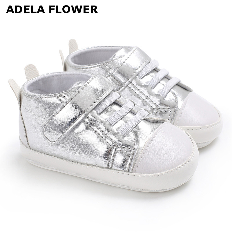 Adela Flower PU Leather Baby Moccasins Newborn Baby Shoes For Kids Sneakers Infant Indoor Crib Shoes Boys Girls First Walkers