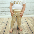 gold sequin sparkle pants girls leggings toddler pants Girls sequin gold leggings birthday clothes kids fashion pants