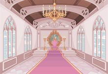 Laeacco Old Palace Chandelier Corridor Carpet Interior Photographic Background Customized Photography Backdrops For Photo Studio