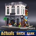 2016 Nuevo Banco LEPIN 15001 2413 Unids Creador de Ladrillo Kits de Edificio Modelo Bloques Ladrillos Compatibles Los Niños Juguetes de Regalo 10251
