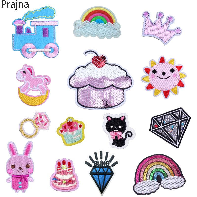 Patches Analytical 1x Embroidered Cartoon Patches For Hat Cap Clothes Stickers Bag Sew Iron On Applique Diy Apparel Sewing Clothing Accessories Bu5 With The Best Service