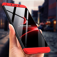 GKK 3 in 1 Case for xiaomi redmi 6A 7A 360 Full Protection Slim Dual Armor Shockproof Hard Matte For Redmi Cover Fundas