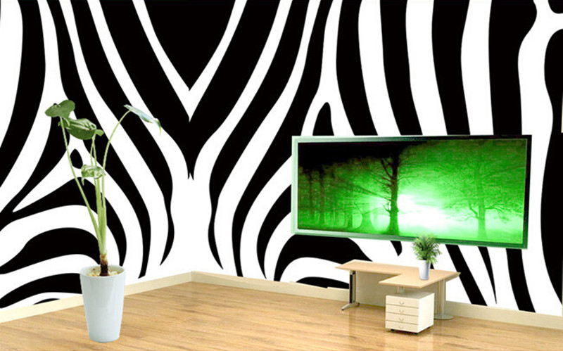 Custom 3D murals,simple black and white zebra pattern abstract papel de parede,hotel living room sofa TV wall bedroom wallpaper the custom 3d murals the new york times center building street black and white living room sofa tv wall bedroom wall paper