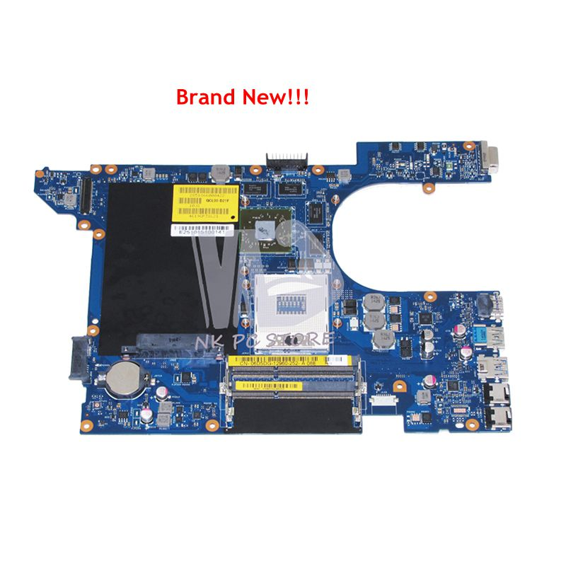 NOKOTION NEW For Dell Vostro 3560 Laptop Motherboard CN-0RDH49 0RDH49 QCL00 LA-8241P HM77 DDR3 HD7600M Video Card nokotion 4p57c 04p57c cn 04p57c qcl00 la 8241p for dell inspiron 15r 7520 laptop motherboard hd7730m
