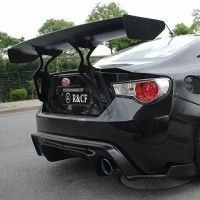 for toyota gt86 subaru brz carbon fiber big gt spoiler wing auto car trunk with brackets high quality good price