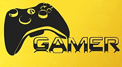 Gamer Players Vinyl Wall Decal Gaming Time xbox 360 ps3 Game Controller Wall Sticker Kids Children Nursery Bedroom Decoration