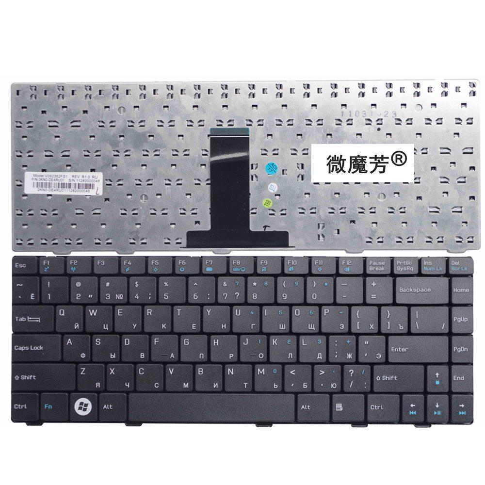 RU For ASUS F82Q F80Q F81 F80CR F80C F80S F80L F80SR X85 X85S X85E X88S X82 X82L X88E X88SE X88V F80 Keyboard Russian Black