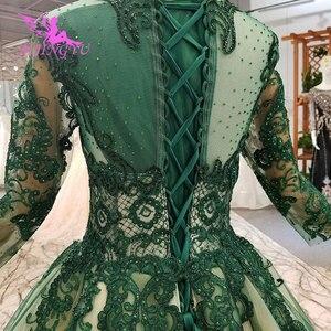 Image 4 - AIJINGYU ウェディング衣装ガウンヴィンテージ王女の母ショートプラスサイズゴシックドレス結婚式