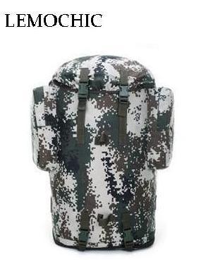 ФОТО LEMOCHIC 70L military camouflage tactical camping fishing waterproof hunting hiking Sightseeing rucksack utdoor sports  backpack