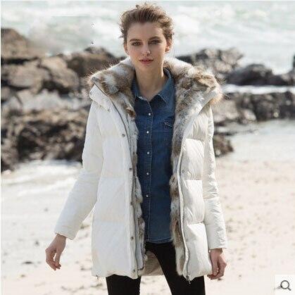 ᗗVeste d hiver Femmes Belle Nouveau Style Manteau Pardessus Marque ... 53e9a11c0e31