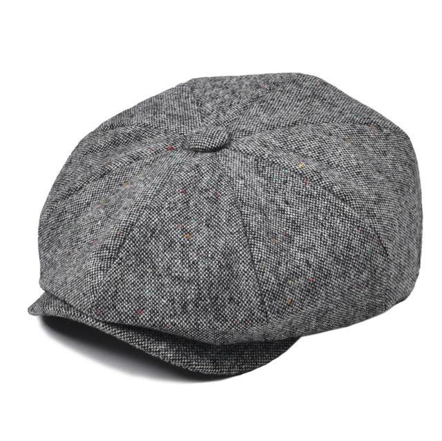 0098aff5b959b2 VOBOOM Wool Blend Men Women Newsboy Cap Men's Gatsby Hats Women's Flat  Beret Baker Boy Headpiece Cabbies Hat Boys Caps 132