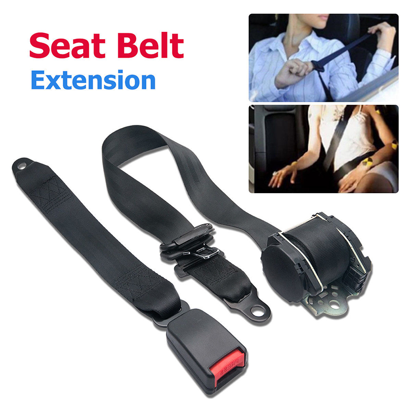 3 Point Safety Travel Adjustable Retractable Auto Car Seat Belt Universal
