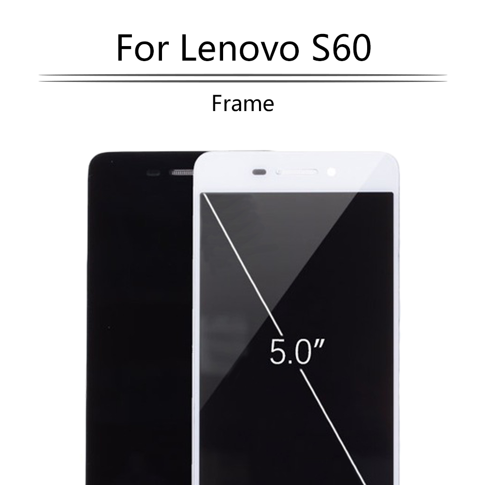 5.0Original Display For LENOVO S60 LCD Touch Screen Digitizer Assembly Frame For LENOVO S60 Display Replacement S60W S60T LCD image
