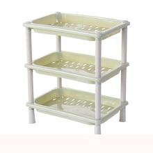 3 яруса кружевных Пластик угловой органайзер для хранения в ванной, на кухне держатель практичное полезные Организатор сэкономить пространство 18x26x32 см