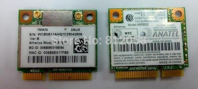 Ssea para atheros ar5b22 metade mini pci-e 2.4g/5g 300 mbps wifi bluetooth4.0 bt sem fio placa de rede para acer 8930g 4750 m3-581t