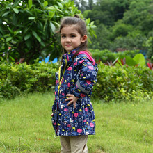 Waterproof Windproof Baby Girls Jackets Child Coat Children Outerwear Warm Polar Fleece For 3-12 T Winter Autumn
