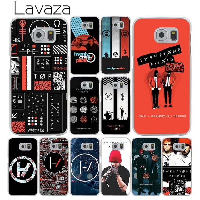 US $1 99 22% OFF|Lavaza 21 Twenty One Pilots Hard Transparent Phone Case  for Samsung Galaxy S10 E S10E S8 S9 Plus S6 S7 Edge Cover Case-in