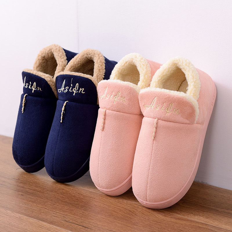 Winter Slippers Women Warm Home Shoes For Men Winter Shoes Indoor Slippers Women House Shoes Man