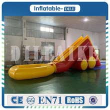 10 мл* 2 мВт летняя спортивная гигантская надувная водная горка с бассейном для взрослых детская надувная водная игрушка для парка влажная горка