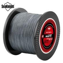 SeaKnight 1000M 4 Strands Braided Fishing Line Japan Material Multifilament PE Line 8 10 15 20 25 30 35 40 50 60LB Carp Fishing