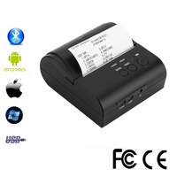 POS 80mm Mobile Portable Thermal Receipt Bill Bluetooth mini Printer Support Computer Apple Android Free SDK Support Logo Print